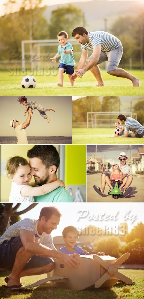 Stock Photo - Father & Son 2
