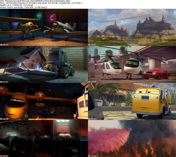 Planes Fire And Rescue 2014 BRRiP X264 AC3 CrEwSaDe