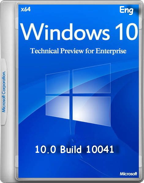 Windows 10 Enterprise Preview Build 10041 (x64)