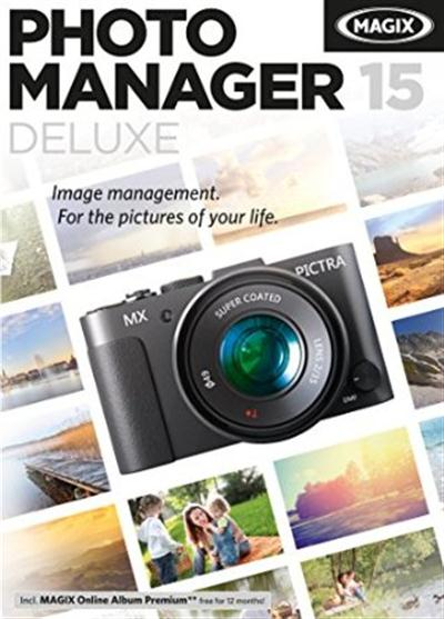 MAGIX Photo Manager 15 Deluxe v11.0.2.36