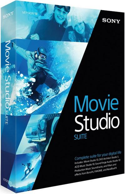 Sony Movie Studio Suite 13.0 Build 954/955 Multilingual (x86/x64)