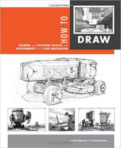 Искусство рисования: Рисование эскизов объектов и пространства из воображения