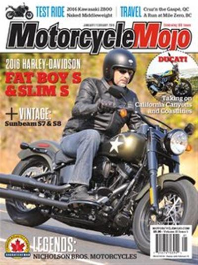 Motorcycle Mojo - January-February 2016
