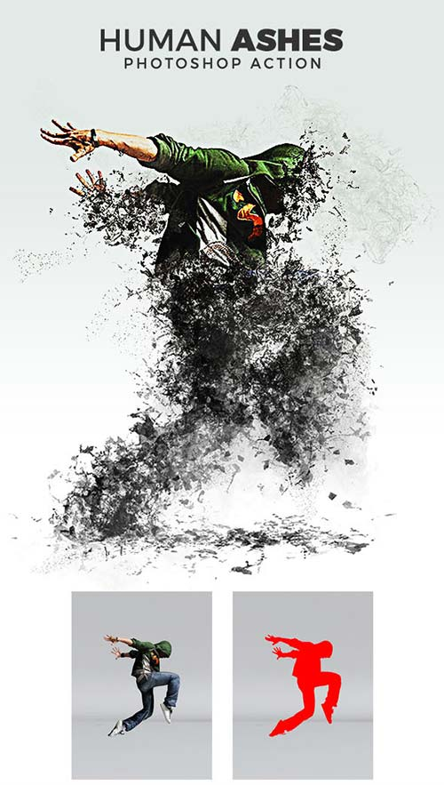 GraphicRiver Human Ashes Photoshop Action