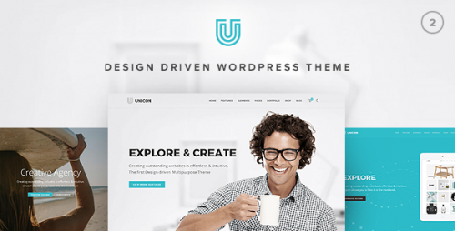 [NULLED] Unicon v2.0 - Design-Driven Multipurpose Theme
