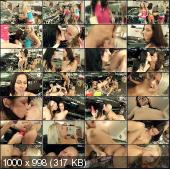 ClubSevenTeen - Brooke, Sharon, Maxima, Jacky - Four Girl Lesbian Car Wash [SD]