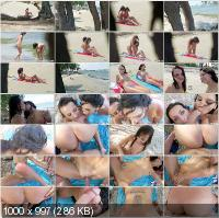 PervsOnPatrol - Chanel White, Missy Martinez - Peaches On The Beaches [HD 720p]