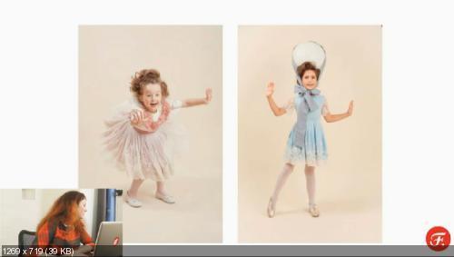 Фотографируем ребёнка дома, как в студии. Видеокурс 2014