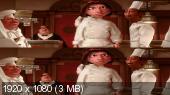 ������� 3� / Ratatouille 3D (2007) Blu-Ray Remux 1080p | DUB | ��������