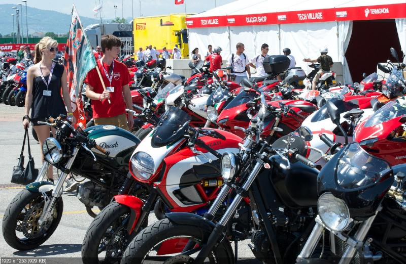 Мероприятие World Ducati Week 2014 (фото)