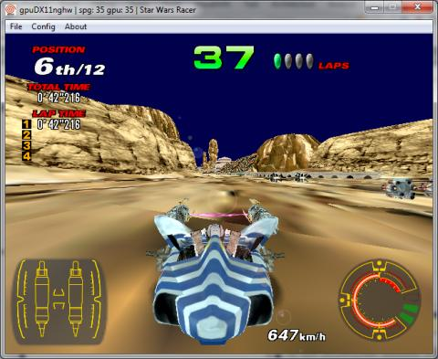 MAMEWorld Forums - News - Star Wars Racer WIP