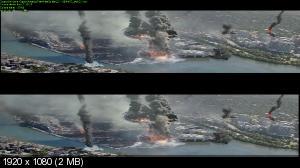 Первый мститель: Другая война в 3Д / Captain America: The Winter Soldier 3D ( Лицензия by Ash61) Вертикальная анаморфная