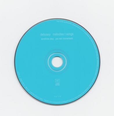 Sandrine Piau (soprano) & Jos van Immerseel (piano) – melodies Debussy / 2007 Naïve