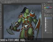 Adobe Photoshop для художников: школа компьютерной живописи (2013) Видеокурс