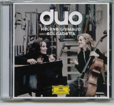 Helene Grimaud (piano) & Sol Gabetta (violoncello) – DUO (Schumann, Brahms, Debussy, Shostakovich)/ 2012 DG