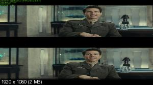 Грань будущего 3Д / Edge of Tomorrow 3D ( Лицензия by Ash61) Вертикальная анаморфная