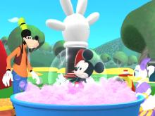 "���� ����� �����: �������� � ����� / Mickey Mouse Clubhouse: Mickey""s Big Splash (2009) DVDRip"