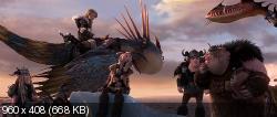 Как приручить дракона 2 (2014) BDRip-AVC от HELLYWOOD {Лицензия}