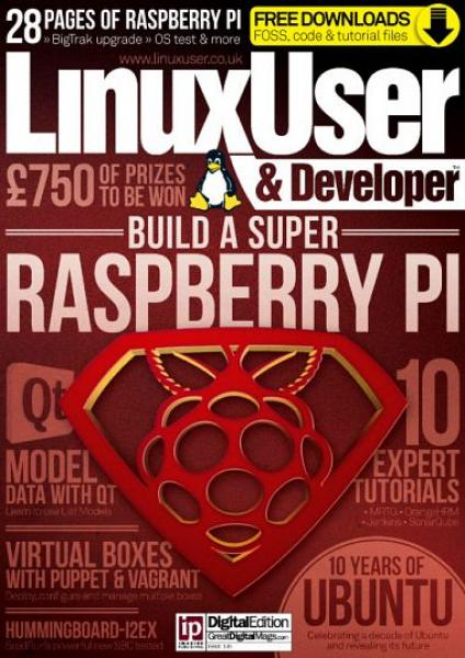 Linux User & Developer – Issue 145, 2014