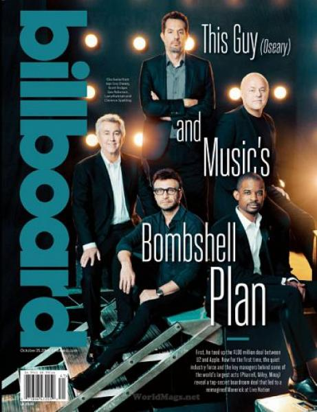 Billboard – 25 October 2014