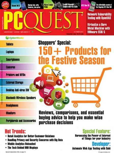 PCQuest – October 2014