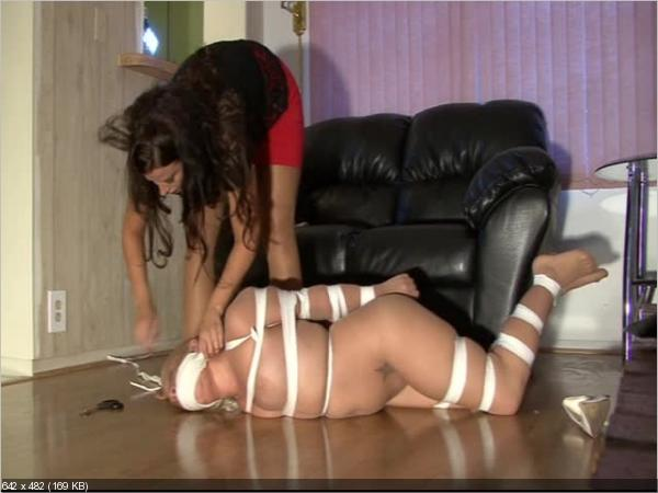 girls punished in pantyhose