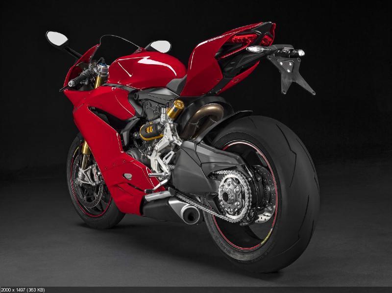 Новый мотоцикл Ducati 1299 Panigale (S/R) 2015
