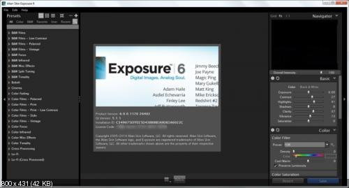 Alien Skin Exposure 6.0.0.1170 Revision 26402 Final