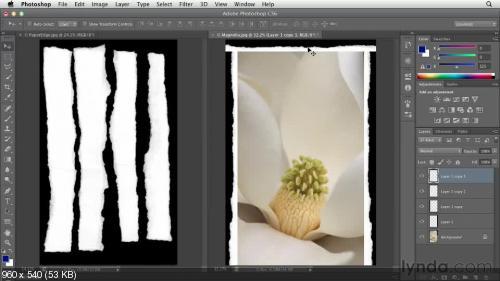 Lynda.com Базовый курс по Photoshop CS6