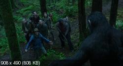 Планета обезьян: Революция (2014) BDRip-AVC от HELLYWOOD {Лицензия}