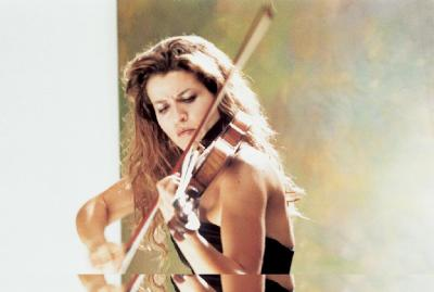 "Anne-Sophie Mutter (violine) – Alban Berg : violin concerto, Wolfgang Rihm : ""Time Chant"", music for violin and orchestra; CSO, James Levine / 1992 DG"
