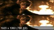 Планета обезьян: Революция 3Д/ Dawn of the Planet of the Apes 3D  Вертикальная анаморфная