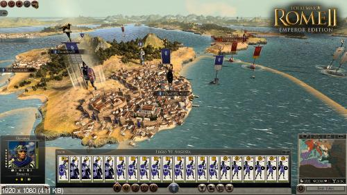 Total War: Rome II (2) - Emperor Edition (SEGA) (RUS|ENG) [DL|Steam-Rip] от R.G. Игроманы