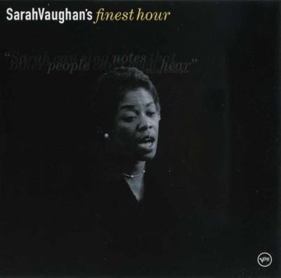Sarah Vaughan - SarahVaughan's finest hour / 2000 Verve