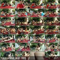 SpicyRoulette - Ashlynn, Missy, Alexiss - Outdoor Party [HD 720p]