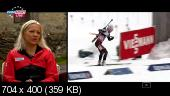 Биатлон. Кубок Мира 2014-15. 2-й этап. Хохфильцен (Австрия) Женщины. Спринт 7,5 км Евроспорт (2014) SATRip