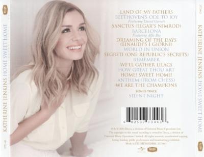 Katherine Jenkins - HOME SWEET HOME / 2014 Decca