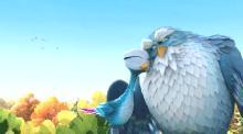 Махни крылом / Yellowbird (2014) DVDRip