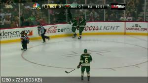 Хоккей. NHL 14/15, RS: Boston Bruins vs. Minnesota Wild [17.12] (2014) HDStr 720p | 60 fps