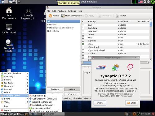 PCLinuxOS 2014.12 LXDE [x32, x64] 2xCD