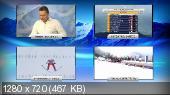 Лыжные гонки. Кубок Мира 2014-15. Tour De Ski. Оберстдорф (Германия). Женщины. Гонка преследования. Классика [04.01] (2015)  HDTVRip 720p | 50 fps
