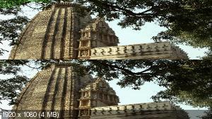 Очаровательная Индия в 3Д / Fascinating India 3D ( by Ash61) Вертикальная анаморфная