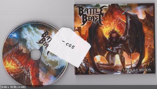Battle Beast - Unholy Savior (2015) [Digipack]