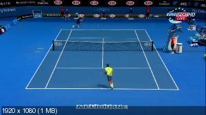 Теннис. Australian Open 2015. 3-ий круг. Андреас Сеппи (Италия) - [2] Роджер Федерер (Швейцария) [23.01] (2015) HDTV 1080i