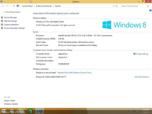 Windows 8.1 Professional WMC with Update [November 2014] (EN-RU)