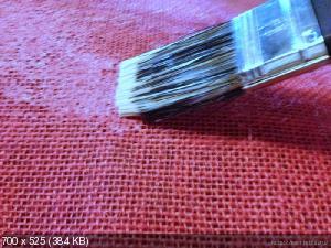 Цветы из мешковины, джута, шпагата 5203d2f637e256655c1aa92499502275