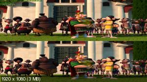 Астерикс: Земля Богов в 3Д / Asterix: The Mansions of the Gods 3D  (Лицензия by Ash61) Вертикальная анаморфная