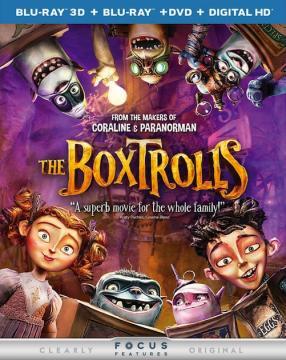 Семейка монстров / The Boxtrolls (2014) BDRip 720p | Лицензия