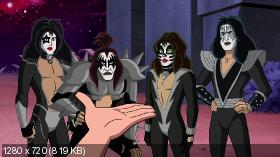 Скуби-Ду и KISS: Тайна рок-н-ролла / Scooby-Doo! And Kiss: Rock and Roll Mystery (2015) BDRip 720p | DVO