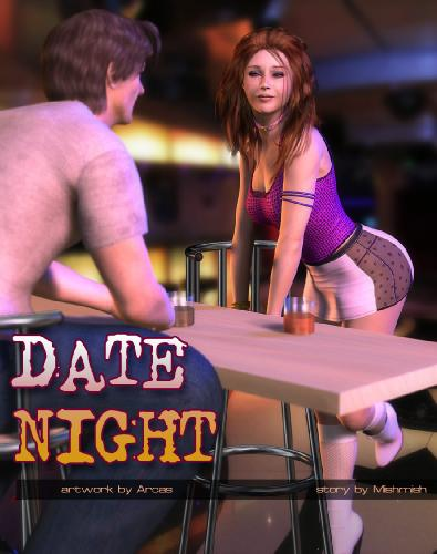 Arcas - Date Night - Bondage, 3D Porn Comic Download Comics